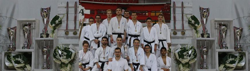 I risultati del campionato nazionale di karate a Monza
